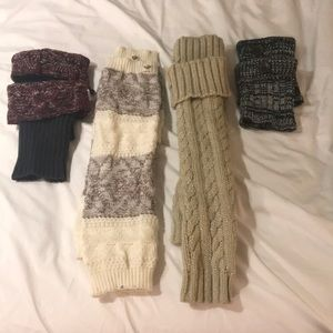 Leg warmers and boot toppers